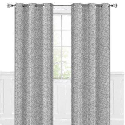Maison Condelle Lauren Taylor Priscilla Curtain Panels Size: 54