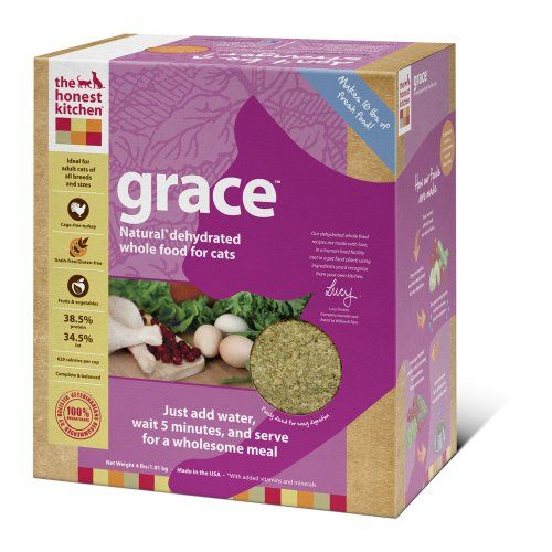 The Honest Kitchen Grace Grain-Free Dehydrated Cat Food, 2-Pound - http://www.thepuppy.org/the-honest-kitchen-grace-grain-free-dehydrated-cat-food-2-pound/