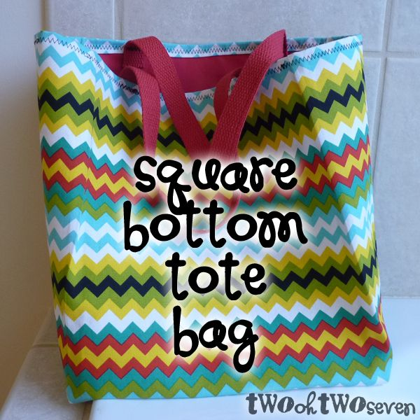 2027 31 Days Of Shut Up And Sew Square Bottom Tote Bag Fun With Fabric Pinterest Sewing Bags