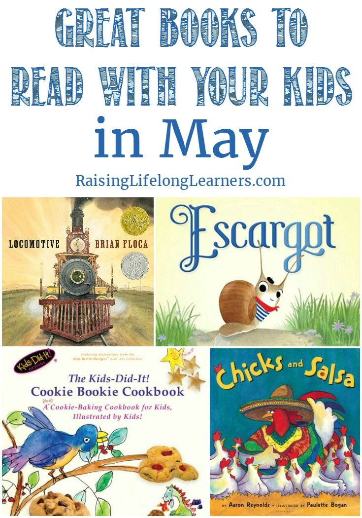 Great Books to Read With Your Kids in May - Raising Lifelong Learners