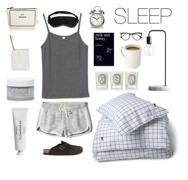 Simple Sleep #dream #sleap #skincare #pijama #milkandhoney #simple #bedtime by koczuba-anna on Polyvore featuring polyvore Mode style Hollister Co. J.Crew Gucci Kypris Slip Byredo Bag-All Lexington Hotel Collection Diptyque Newgate fashion clothing