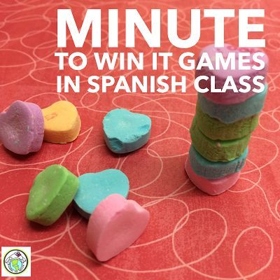 Minute to Win it Games in Spanish Class See our post on NINE games to play in class for all levels! Mundo de Pepita, Resources for Teaching Spanish to Children