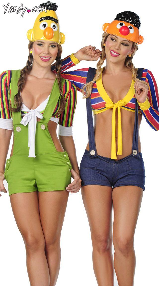 """Are you kidding me? #notbuyingit #halloween - Sexy Bert and Ernie Halloween Costumes"" via @mubnii on Twitter"