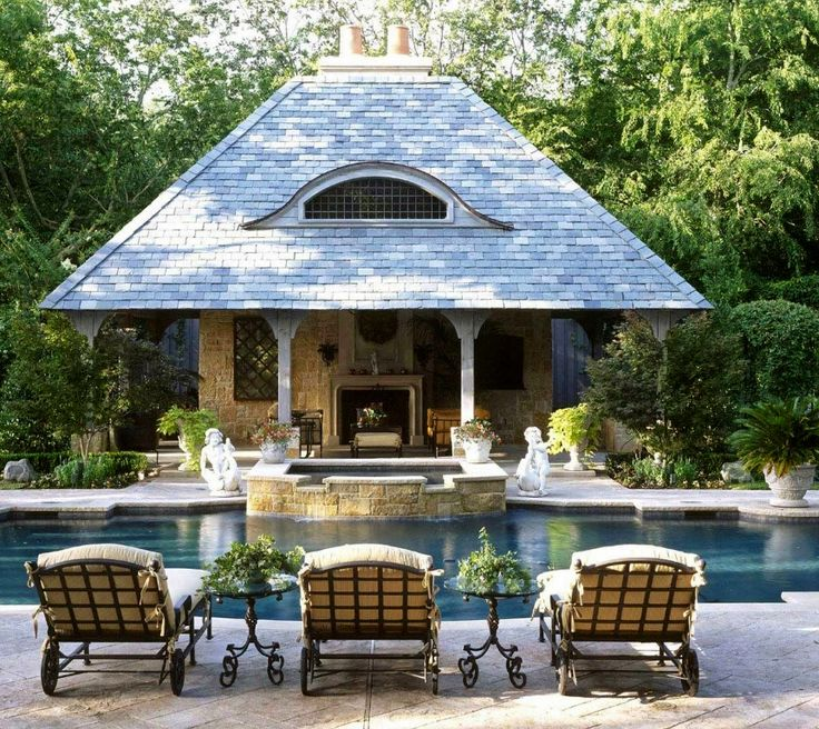 Luxury Cabana Pool House Design: ...the Little Book Of Secrets...