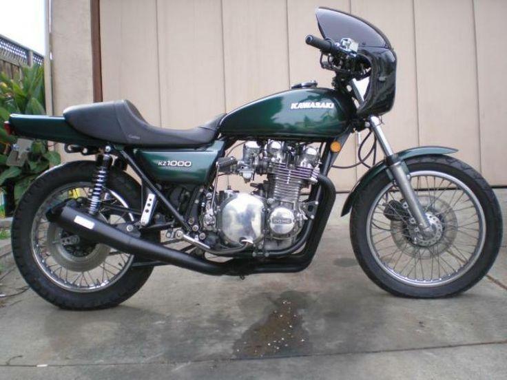 Kawasaki KZ1000. Lots of speed for the money.