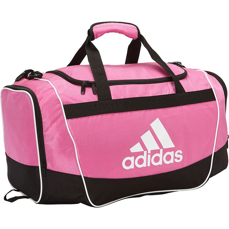 Image of adidas Defender Duffel II - Medium Intense Pink - adidas All Purpose Duffels