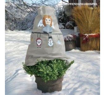 Kaptur obok praktycznej korzyści dla roślin jest wesołą dekoracją ogrodu. Więcej na http://tetex.pl/oferta,kaptur-ochronny-z-wlokniny-wieniec-gwiazdkowy-w-125-x-sz-120-cm-srednica-75-cm,4e544133.html