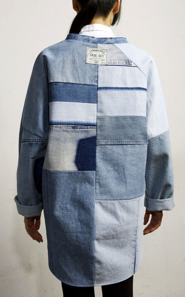 fade out label recycled upcycled vintage denim fashion berlin | Photography: Patrick Miller