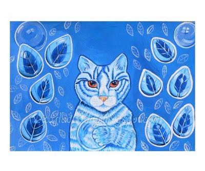 SolmilarArt: Był raz kot niebieski