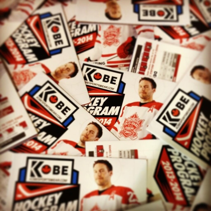 #OMG It's here! It's here! Our new 2013-14 Hockey Program is out! Check out all the new #KobeK3G styles!