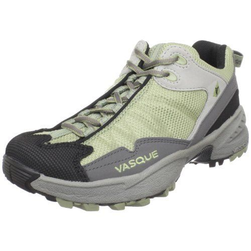 Vasque Women's Velocity Trail Runner Vasque. $69.99. Last: Arc Tempo. Synthetic and mesh. Outsole: Vasque Mako. Midsole: Dual-Density EVA. Rubber sole. Weight: 14.0 oz. (397g)