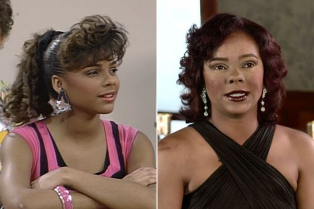 Don't adjust your computer screen. This is what Lark Voorhies from 'Saved by the Bell' looks like now