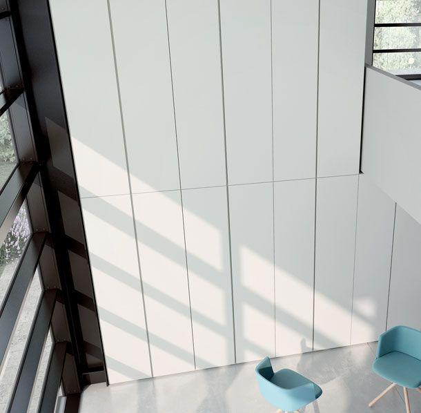 Armadio con maniglie invisibili, armadio a tutta parete Flat | Caccaro www.magnicasa.it