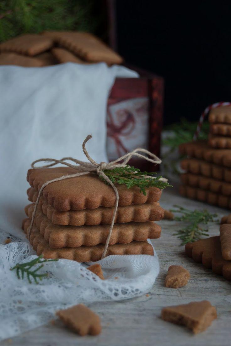 La asaltante de dulces: Receta de galletas Speculoos de espelta/ Spelta Speculoos cookies recipe