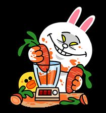 LINE Characters Blow a Fuse - LINE Stickers