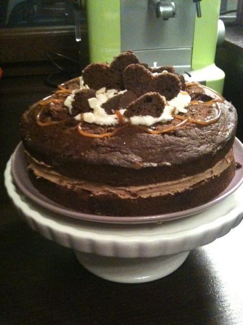 """""""Poundcake al cioccolato con farcia golosa""""  trovate la ricetta qui - find the recipe here ---> http://www.facebook.com/media/set/?set=a.121624294591004.32210.121609514592482=3#!/photo.php?fbid=366258713460893=a.121624294591004.32210.121609514592482=3"""