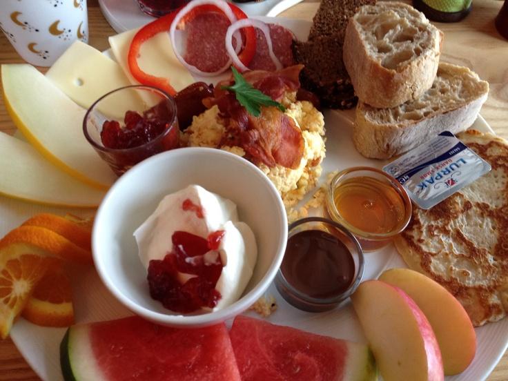 Brunch at Cafe Sigurd - not bad ;-)