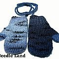 Fournitures : - Pour un enfant de 2 ans , il faut les tricoter en aig n° 3 et 3,5 . - Pour un enfant de 3 ans , il faut les...