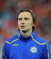 Fussball International EM 2012-Qualifikation: Alexey Popov (Kasachstan)