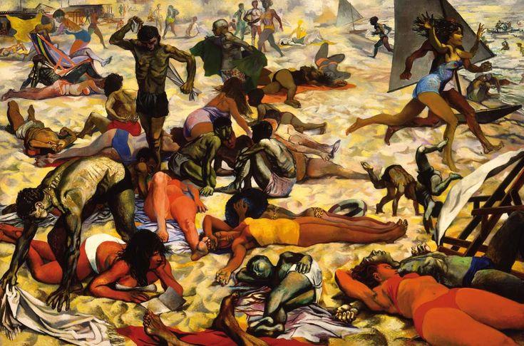Renato Guttuso  La spiaggia 1955-1956