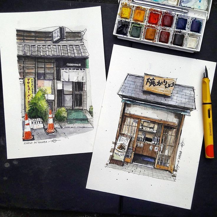 "611 Beğenme, 3 Yorum - Instagram'da A Travel Diary (@_atraveldiary_): ""Japan - @edwinrei04 • • • • • • Repost from @edwinrei04 - Japanese front shop . #watercolor…"""