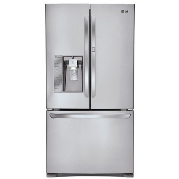 LG - Refrigerador de 3 puertas con puerta francesa, gran capacidad de 29 pies cúb., con Door-in-Door® (LFXS29766S) | Conn's