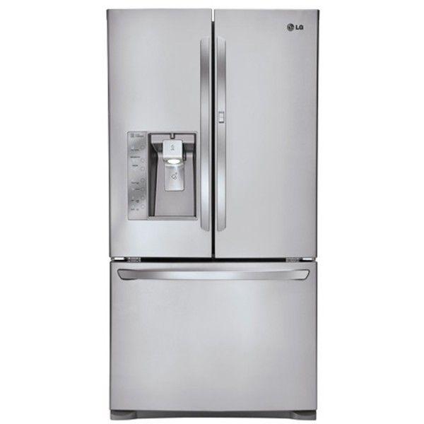 LG - Refrigerador de 3 puertas con puerta francesa, gran capacidad de 29 pies cúb., con Door-in-Door® (LFXS29766S)   Conn's