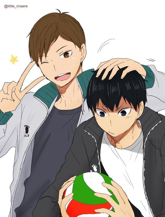 Futakuchi & Kageyama | Haikyuu!!