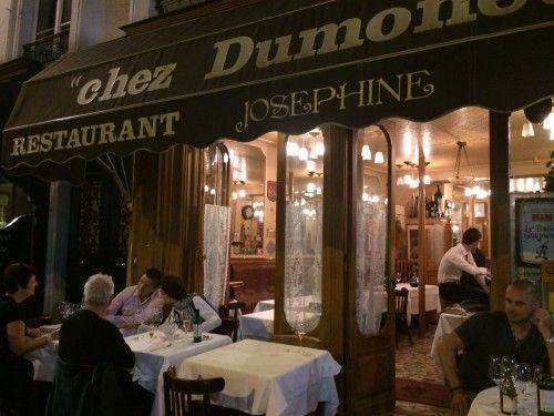 Chez Dumonet シェ・ドゥモネって、レストラン。