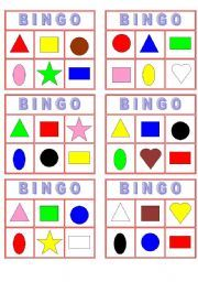 Colors and Shapes Bingo --- multipurpose; need to register with this site and contribute to download
