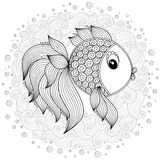 Pattern For Coloring Book. Cute Cartoon Fish. - Download From Over 61 Million High Quality Stock Photos, Images, Vectors. Sign up for FREE today. Image: 62050325