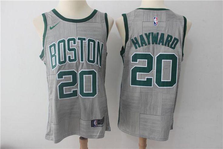 Gordon Hayward Boston Celtics 2017-2018 Swingman  Jersey gray