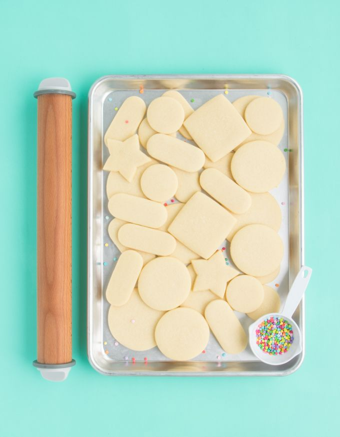 The Best Rolled Sugar Cookie Recipe The Sprinkle Factory S Sweet
