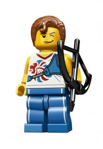 TEAM GB MINIFIGURES    9 different athletes will be making up the lineup of the upcoming Team GB Collectible Minifigure Series.   The series,being released to mark the 2012 London Olympics, and only slated to be available in the UK, OUT NOW £1.99 each.
