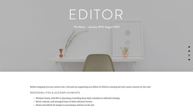 How to build a resume website that will impress every