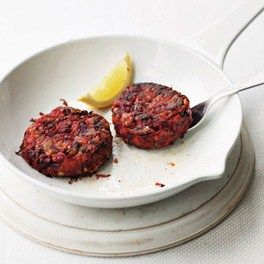 Beetroot and Courgette Burgers