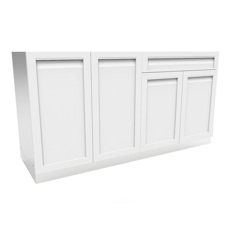 Stainless Steel Outdoor Kitchen Cabinet Doors: Best 25+ Outdoor Kitchen Cabinets Ideas On Pinterest