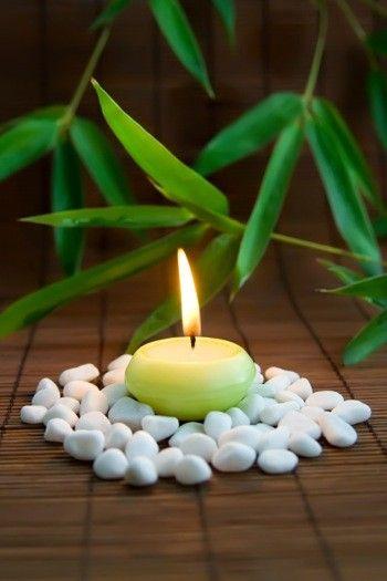 zen white stone^