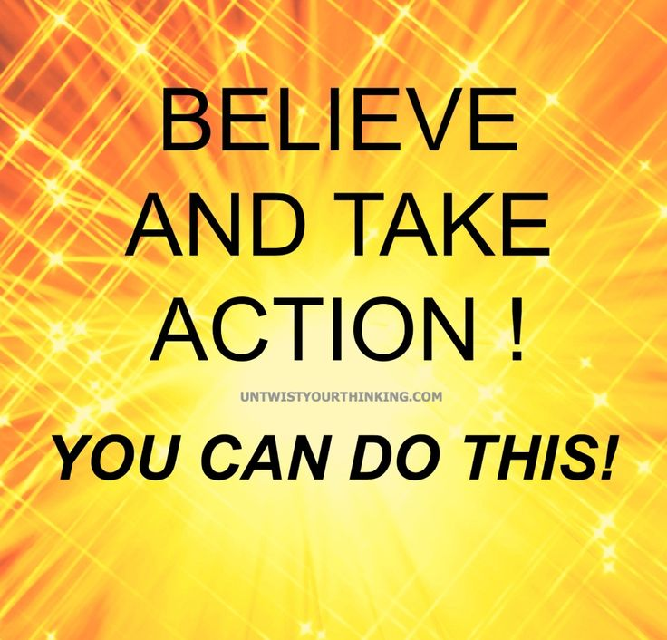 #Believe!! That's the key! And if you believe  yes, you can do it! #motivation #affirmation #inspiration