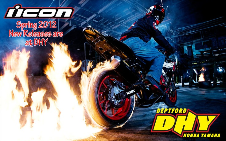 Spring 2012 Icon Gear for the street rider now available at DHY!