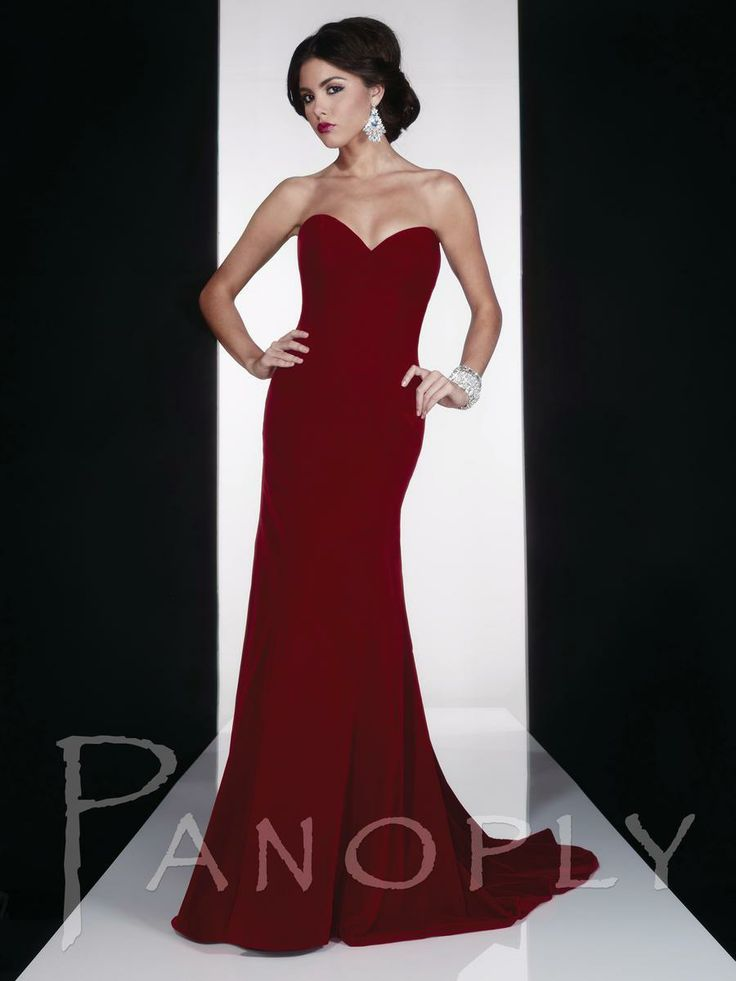 Oxblood Panoply Dress 14605V - see more on http://themerrybride.org/2014/05/03/oxblood-red-wedding/