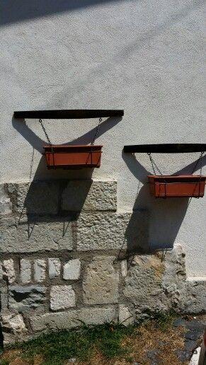 Porta vasi doghe botti