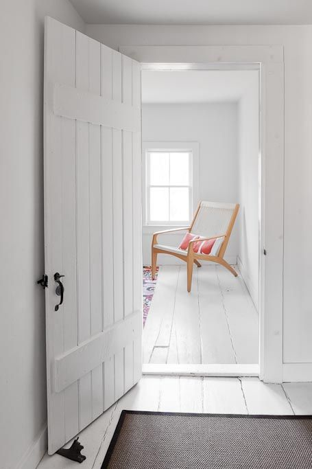 """""""We love the all-white floors and walls of the third floor. It feels like the perfect little beach cottage up there."""""""