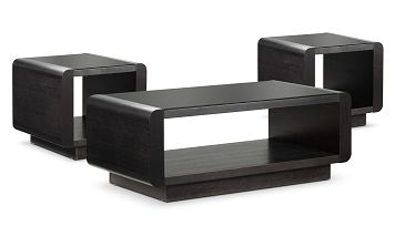 Accent and Occasional Furniture-Park Avenue 3 Pc. Table Set