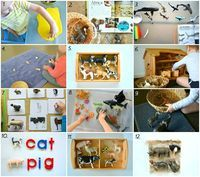 When I am in a toy shop I cannot walk past the Schleich animals without taking a look. There are always new animals and some of them are really beautiful. Here are a few ways in which we use Schleich animals in work and play. 1. Footprints in playdough. Use...