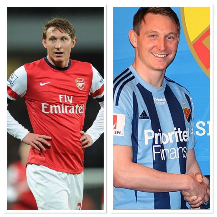 Has played for my two favourite clubs - Arsenal and Djurgården! Kim Källström!
