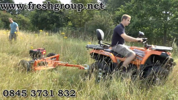 Paddock Topper Mower. ATV paddock topper and compact tractor grass toppers for field mowing. Also known as field toppers, quad and ATV  toppers, they will cut grass, nettles, docks and thistles in your horse paddocks assisting in paddock maintenance. http://www.fresh-group.com/paddock-topper.html