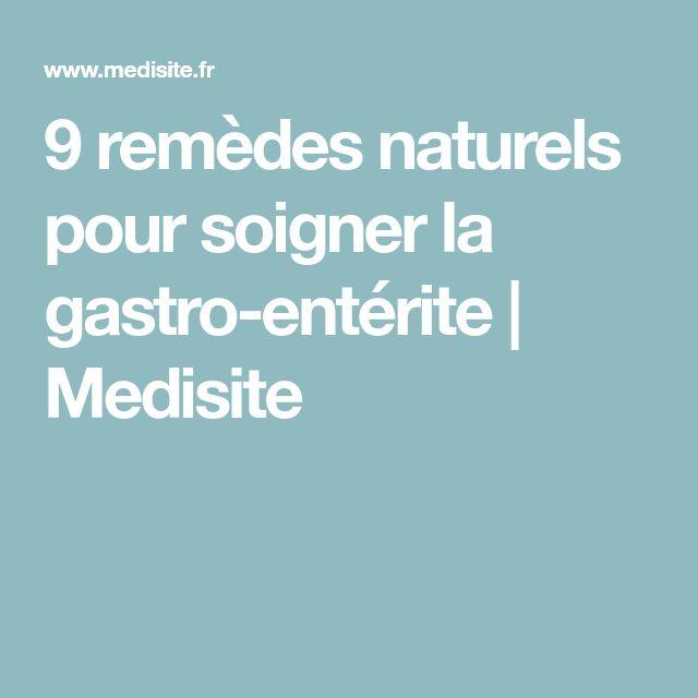9 remèdes naturels pour soigner la gastro-entérite | Medisite