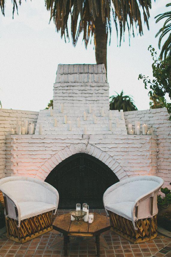 Southern California desert wedding