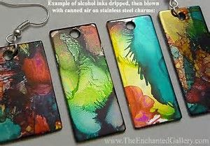 Image result for Ways to Use Alcohol Inks